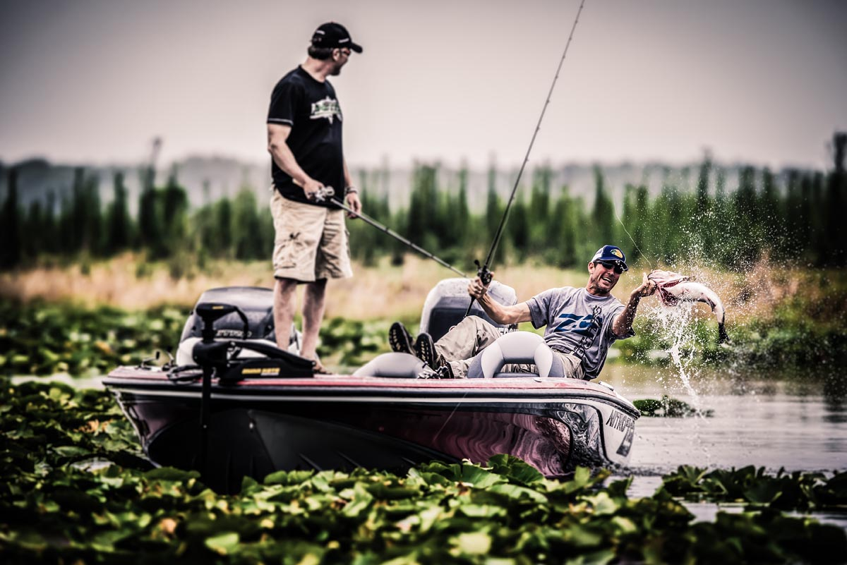 bass fishing photo